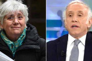 Eduardo Inda masacra a la xenófoba independentista que desea la muerte a Madrid: