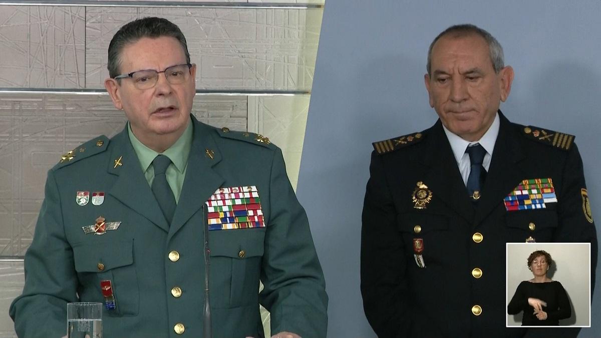 """El jefe de Policía Nacional avisa: """"Ya van 73 detenidos por desobediencia, por insolidarios"""""""