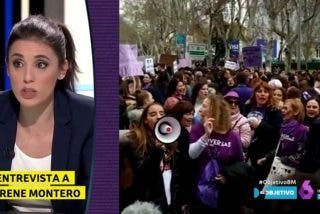 La gran trola de Irene Montero en TV por la dichosa manifestación del 8-M: ahora, que se recupere pronto y dimita