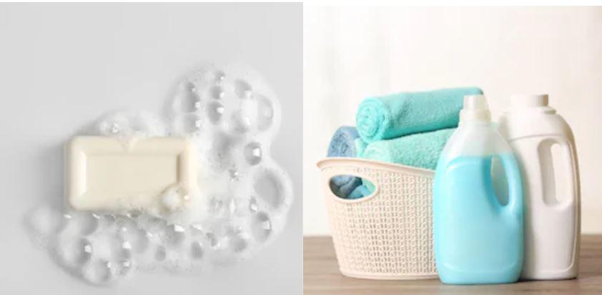Diferencias entre jabones y detergentes