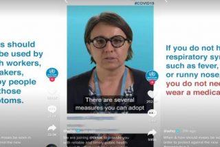 La OMS se vuelve 'influencer' por el coronavirus y abre su cuenta oficial de TikTok
