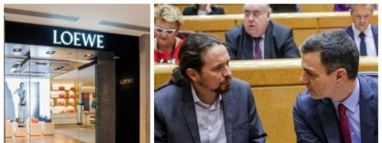 El Gobierno de Sánchez perdona el alquiler de lujo a Loewe, Bulgari y Hugo Boss pero no la cuota de Seguridad Social a los autónomos