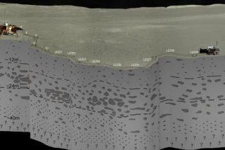 Los chinos consiguen las primeras imágenes del subsuelo de la cara oculta de la Luna