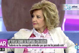El humillante regreso de María Teresa Campos a Telecinco: lloros, peloteo, nueva ilusión amorosa y bajada de pantalones