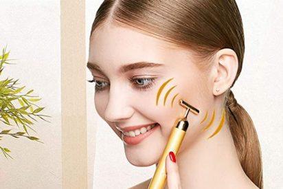 Masajeadores faciales con vibración