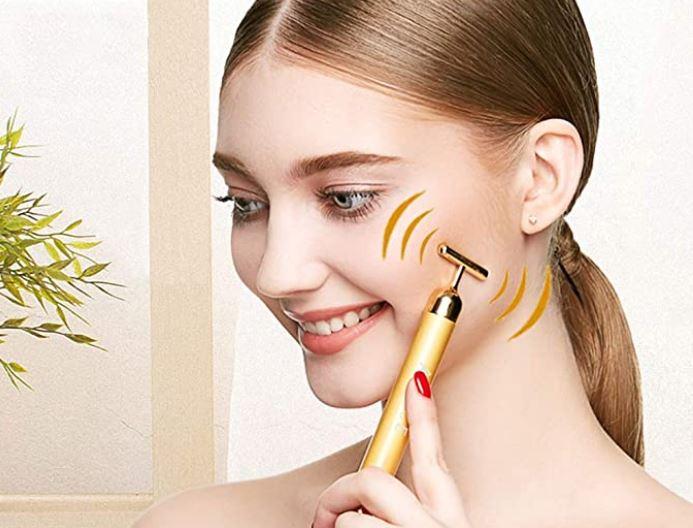 Masajeadores faciales con vibración recomendados