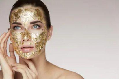 Mascarillas de oro para la cara
