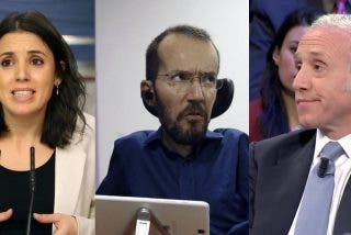 Echenique enloquece por una denuncia contra Irene Montero: insulta a Inda y ridiculiza a un humilde partido político