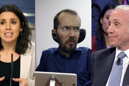Echenique enloquece por una denuncia contra Irene Montero: insulta a Inda e intenta ridiculizar a un humilde partido político