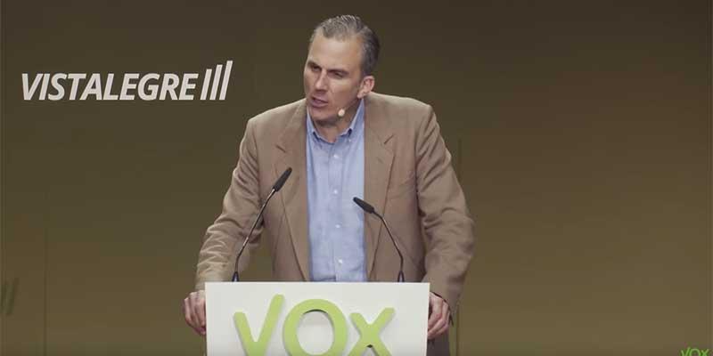 Javier Ortega Smith da positivo por coronavirus y VOX carga contra el Gobierno por su irresponsabilidad