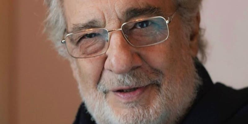 Plácido Domingo da positivo por coronavirus a sus 79 años