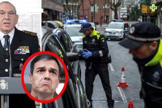 El Gobierno maltrata a la Policía en pleno ataque del coronavirus en España