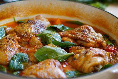 Pollo guisado: La receta de la abuela