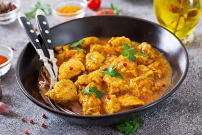 Pollo al curry: La más deliciosa receta