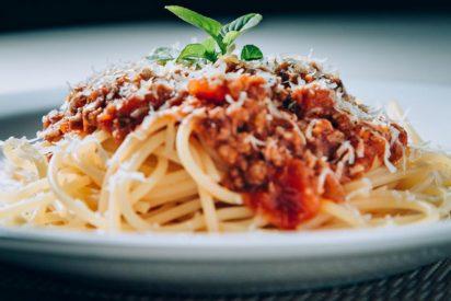 Espaguetis en salsa boloñesa: Del recetario italiano