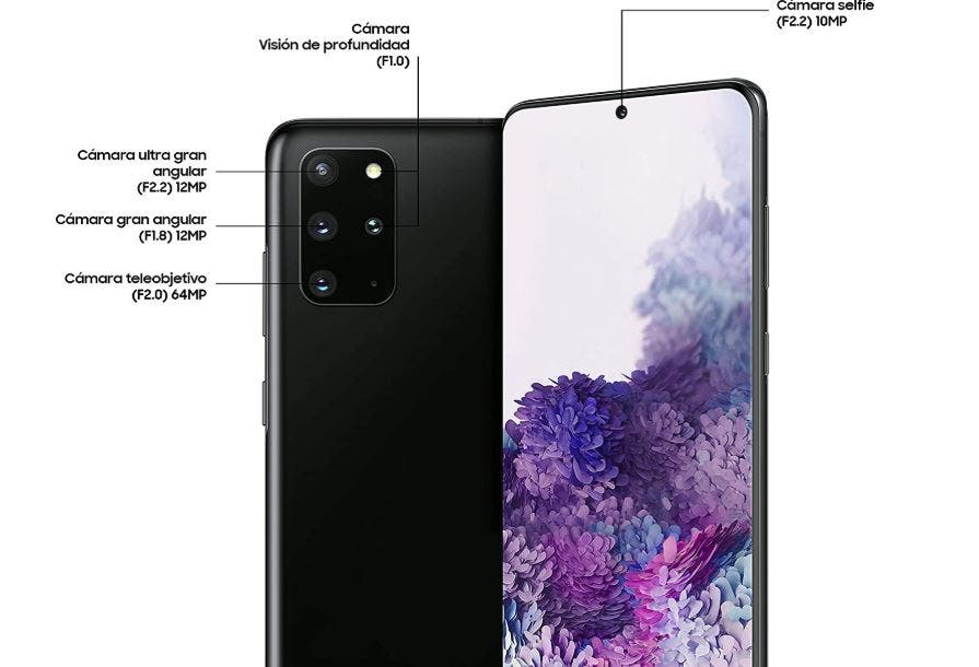 Samsung Galaxy S20 y el S20+: diferencias