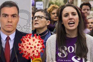 El Gobierno se hunde en su aciaga irresponsabilidad del 8-M con el veredicto de los españoles como estocada