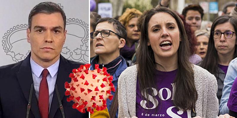 La denuncia contra Sánchez por el 8M: presentada en el Tribunal Supremo y 7.000 españoles listos para adherirse