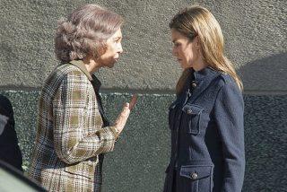 Infernal cuarentena: grave pelea entre Doña Sofía y la Reina Letizia ante trabajadores de Casa Real