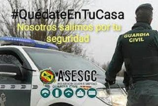 ASEDGC, manifiesta su protesta por la orden relativa la siniestralidad de los Guardias Civiles relativa al COVID-19