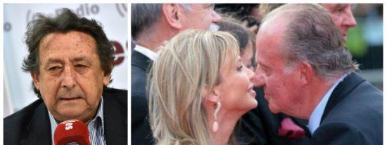 Alfonso Ussía saca la cara por Juan Carlos I en su momento más delicado y deja a Corinna como una hija de las cuatro letras