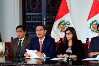 Martín Vizcarra recurre al Tribunal Constitucional de Perú para evitar 'in extremis' su destitución