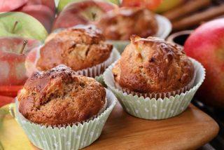 Muffins de manzana y canela: fabulosos y muy esponjosos