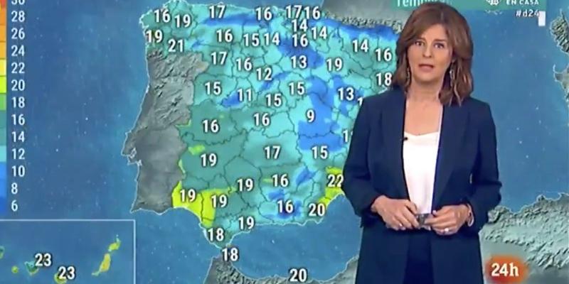 Un error garrafal del Canal 24 horas de RTVE deja en evidencia a su presentadora