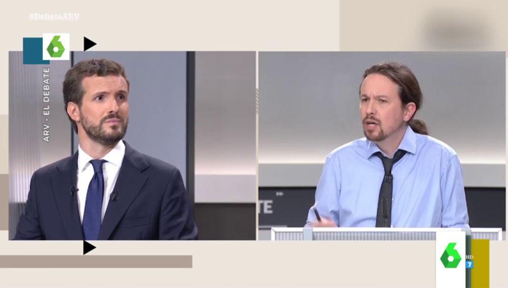 La crisis del coronavirus 'inocula' dosis de liderazgo en Pablo Casado y manda a la UCI a Pablo Iglesias