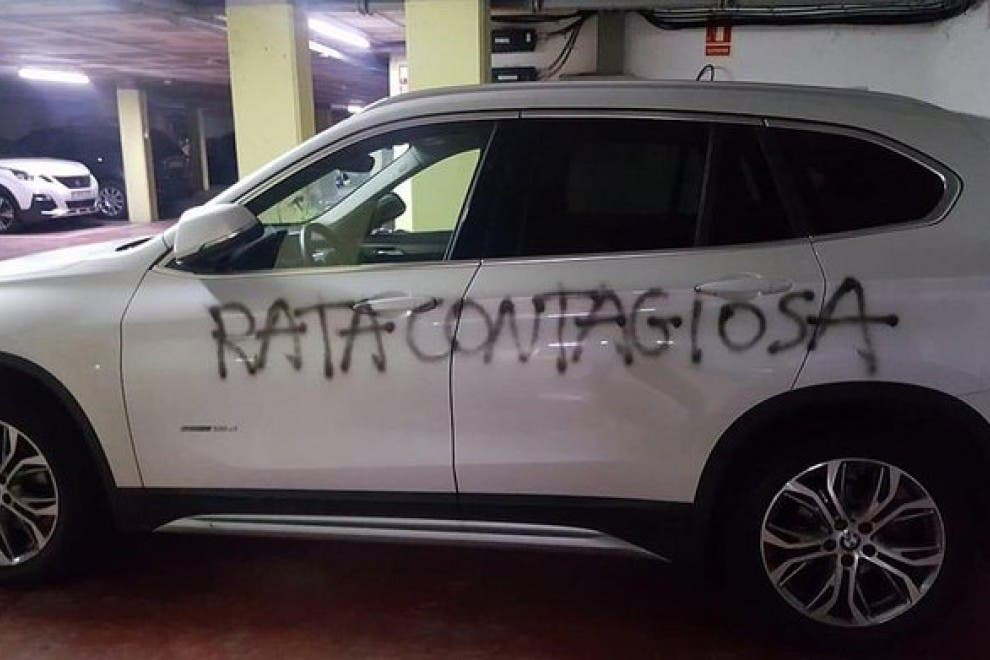 """""""Rata contagiosa"""": el repulsivo mensaje anónimo a una sanitaria"""