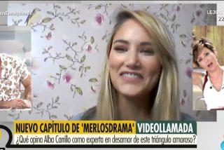 Alba Carrillo descifra el 'Merlos Place' y se sincera sobre la futura paternidad de Fonsi Nieto