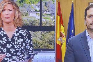 Garzón pierde la cabeza en directo y se le escapa un escándalo a cuenta de los fallecidos por COVID-19