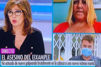 """Ana Rosa entra en shock por los tres indigentes asesinados en Barcelona en dos semanas: """"¿Estamos ante un asesino en serie?"""""""