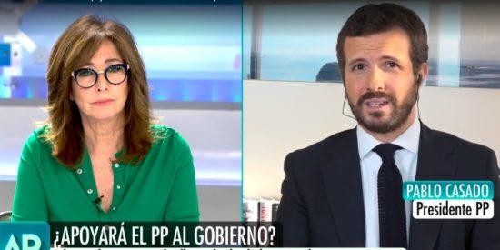 Pablo Casado propone una paga extra para los sanitarios y cero impuestos para trabajadores esenciales