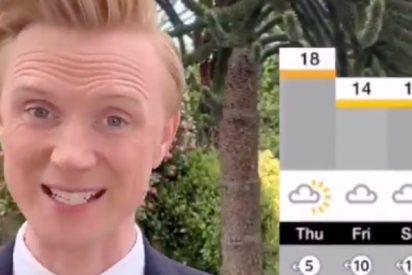 Ovación masiva por el insólito final de una conexión con un presentador de la BBC