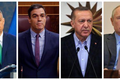¿Abuso de poder? Los líderes europeos que se aprovechan de la crisis del coronavirus para implantar el terror