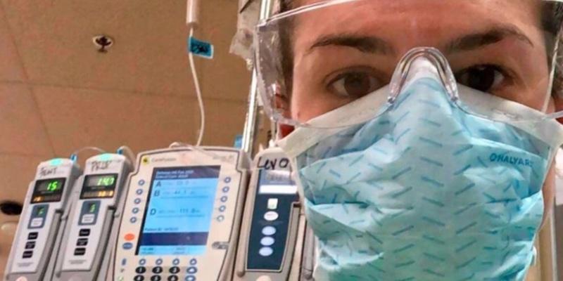 Una mujer conmueve a la plantilla de un hospital: rechaza despedirse de su marido antes de morir por una honorable causa