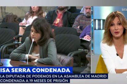 """Griso y compañía se abalanzan contra Isa Serra y los podemitas que se toman la Justicia por su cuenta: """"Muy feminista todo"""""""