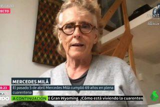 laSexta y una más histérica que nunca Mercedes Milá, el aquelarre perfecto para el insulto cutre a Díaz Ayuso