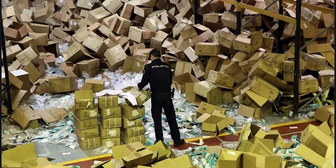 La Policía detiene al empresario que robó dos millones de mascarillas para enriquecerse en Portugal
