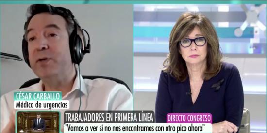 """El Quilombo / El médico azote del mentiroso Sánchez reaparece para desmontar sus bulos: """"No se están haciendo test, vamos detrás de la pandemia"""""""