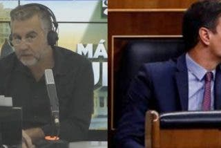 Alsina 'vapulea' a Sánchez y al 'Gobierno del bulo':