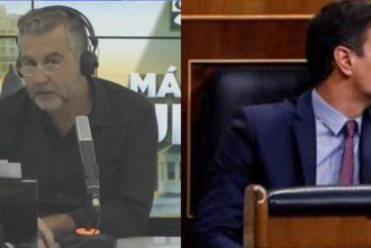"""Alsina 'vapulea' a Sánchez y al 'Gobierno del bulo': """"Lo mezclan todo, estafas, noticias negativas..."""""""