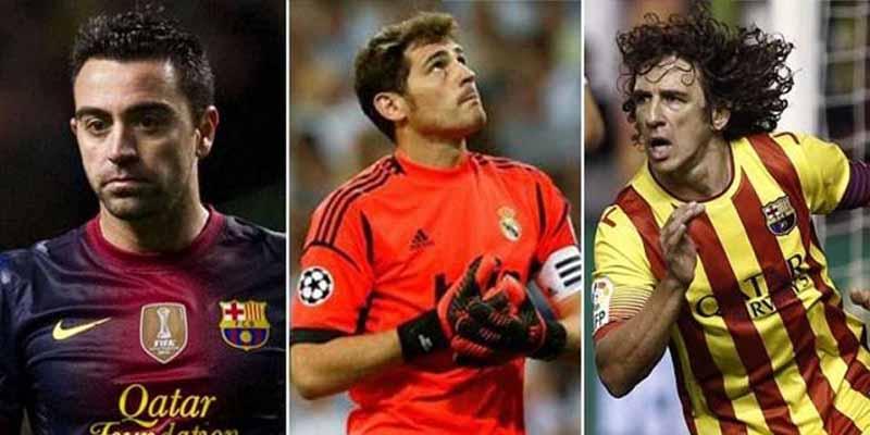 """Xavi, Iniesta, Puyol y Casillas: el increíble hilo de Twitter que terminó con la propuesta de un """"Clásico Vintage"""""""