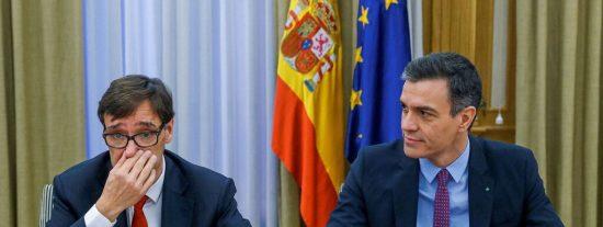 El Gobierno Sánchez perpetró otra chapuza mortal con el veto de la venta de mascarillas a las autonomías