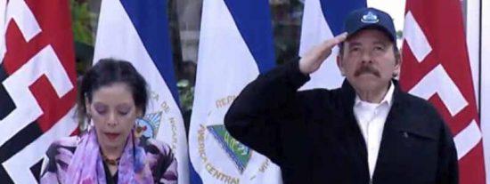"""El tirano Daniel Ortega reaparece después de 34 días y en medio de la pandemia: """"Si se deja de trabajar el país se muere"""""""