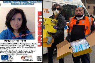 La familia de la peregrina estadounidense asesinada en el Camino de Santiago dona mascarillas agradecida por el trato de la Policía española