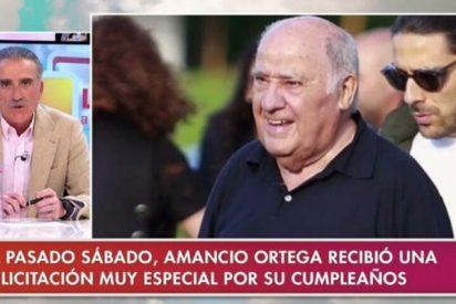 """Juan y Medio se deshace en elogios a Amancio Ortega y estalla contra los podemitas: """"Hay unos repugnantes que rechazan su ayuda"""""""