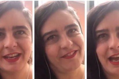 Esta es la periodista de 'Público' que desprecia a la Policía y al Ejército con sus plegarias feminazis: