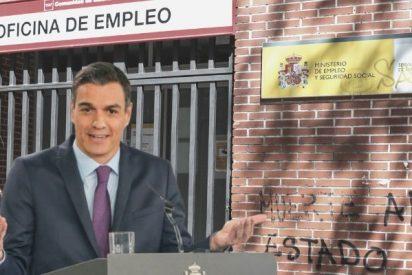 La incompetencia de Sánchez deja 900.000 afiliados menos a la Seguridad Social